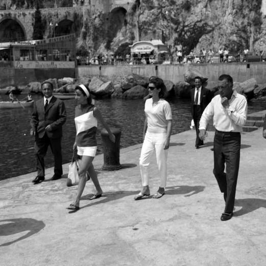 Gianni Agnelli e Jackie Kennedy