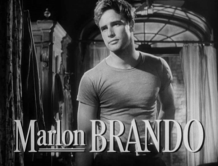 Marlon Brando in 'Streetcar named Desire'