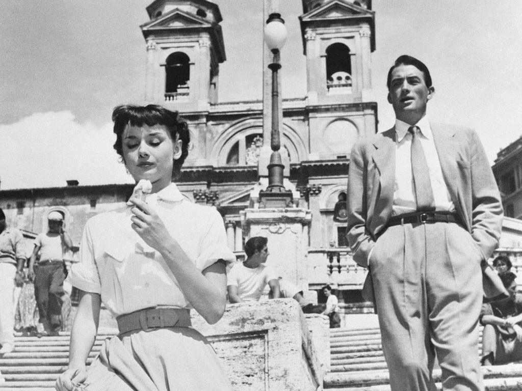 Gregory Peck - Audrey Hepburn - Vacanze Romane