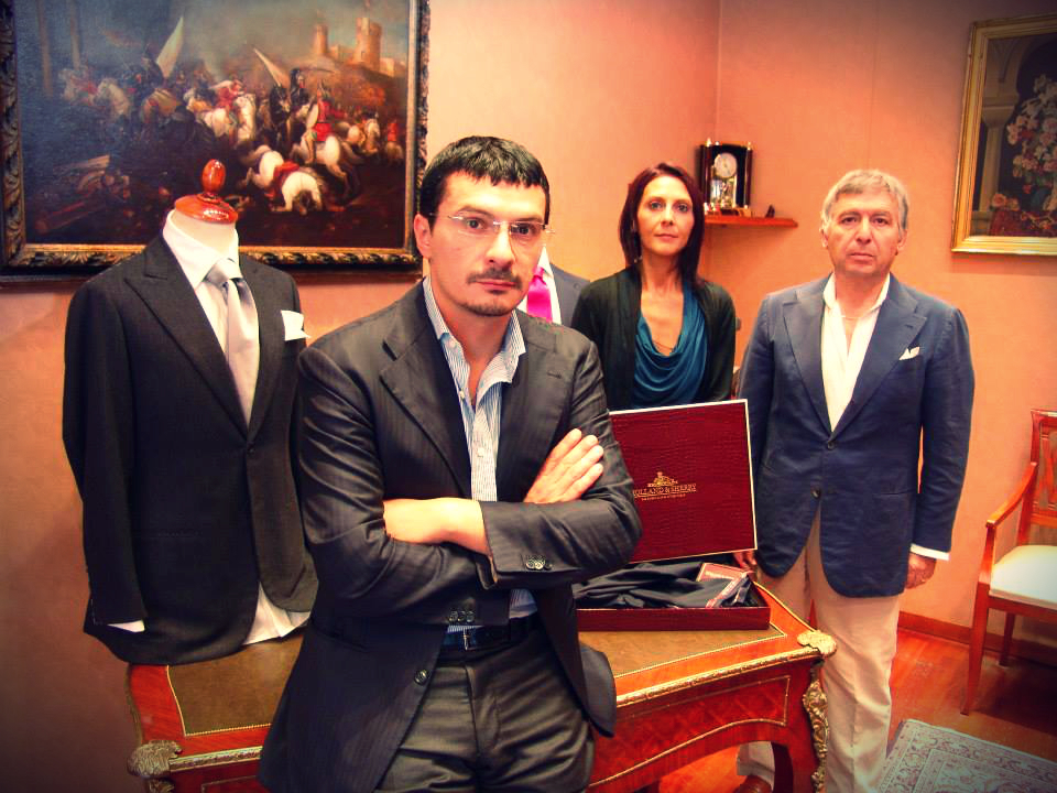 Fabrizio, Luisa e Stefano de Chiara