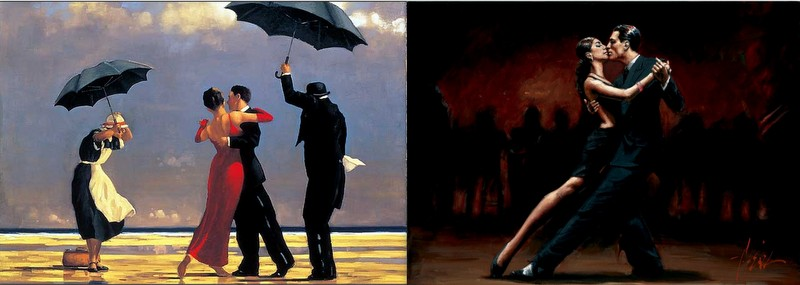 The artists of pathos - Jack Vettriano and Fabian Perez