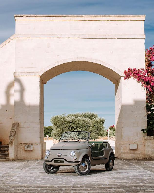 Fiat 500 Jolly Icon-e Borgo Egnazia